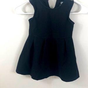 Old Navy Black Sleeveless Dress Size 4T